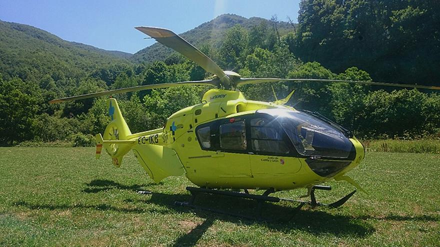 Heridos dos motoristas en un accidente en Manganeses de la Polvorosa