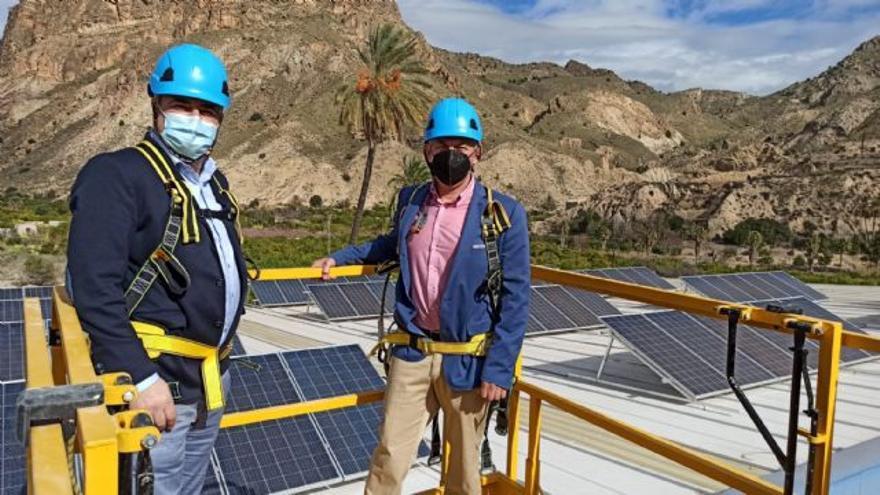 Ojós se decanta por la energía limpia y renovable