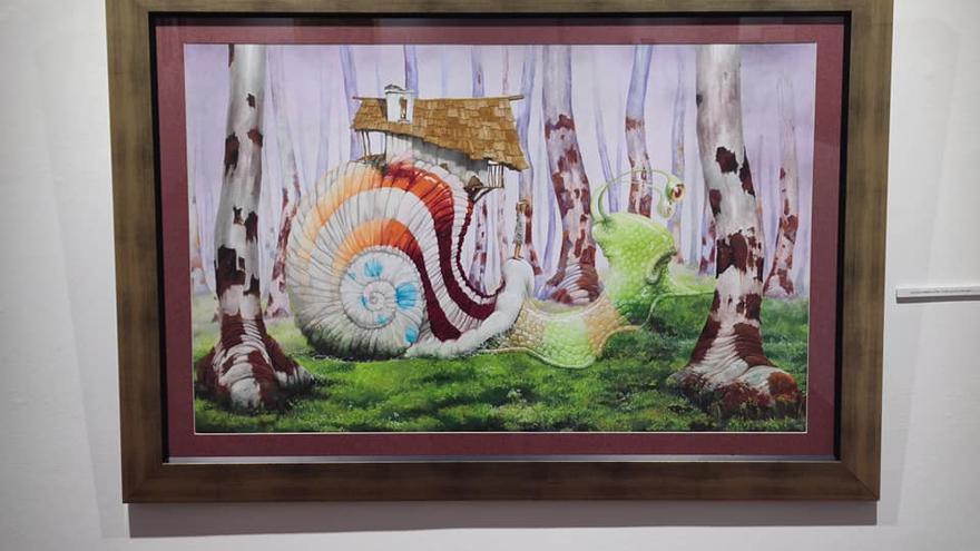 Exposición del Pintor Jorge Rodríguez