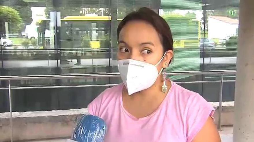 """La madre del niño con daños en un ojo por gel hidroalcohólico: """"No quiero culpar a nadie"""""""