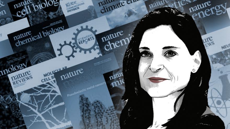 Erika Pastrana, sangre asturiana en el corazón del gigante de las revistas científicas