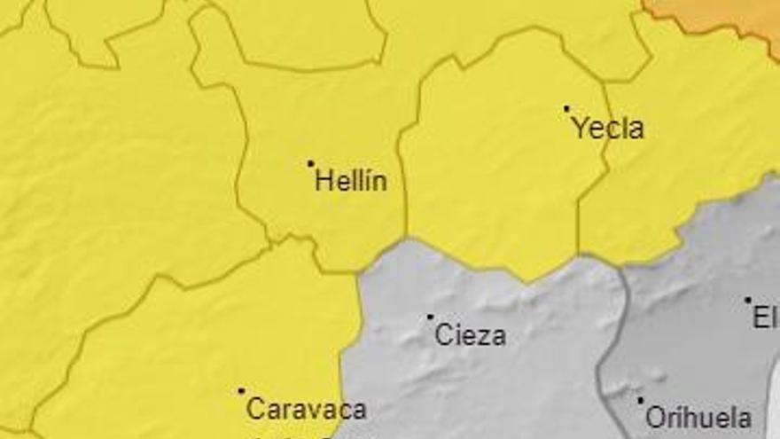 Aviso amarillo por fuertes vientos el sábado en el Noroeste y el Altiplano