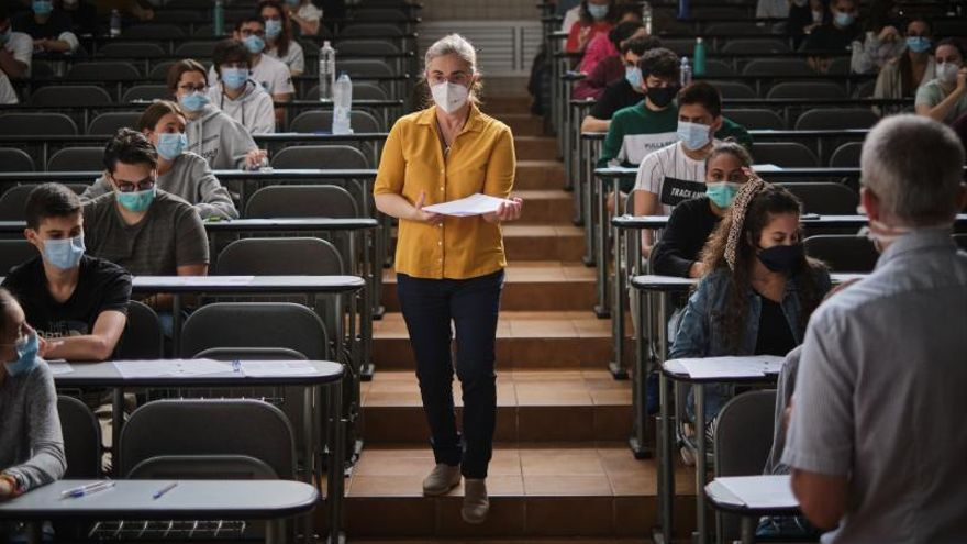 Los alumnos de Canarias se enfrentan a la EBAU esta semana