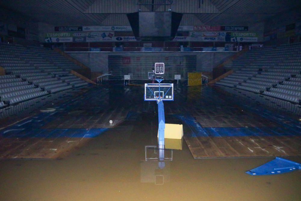 Fontajau, inundat