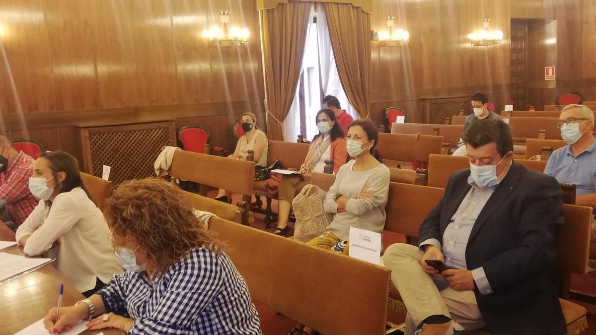 Reunión de la Diputación de Zamora con representantes de de los consejos reguladores de las Denominaciones de Origen, las Marcas de Garantía y las Indicaciones Geográficas Protegidas.