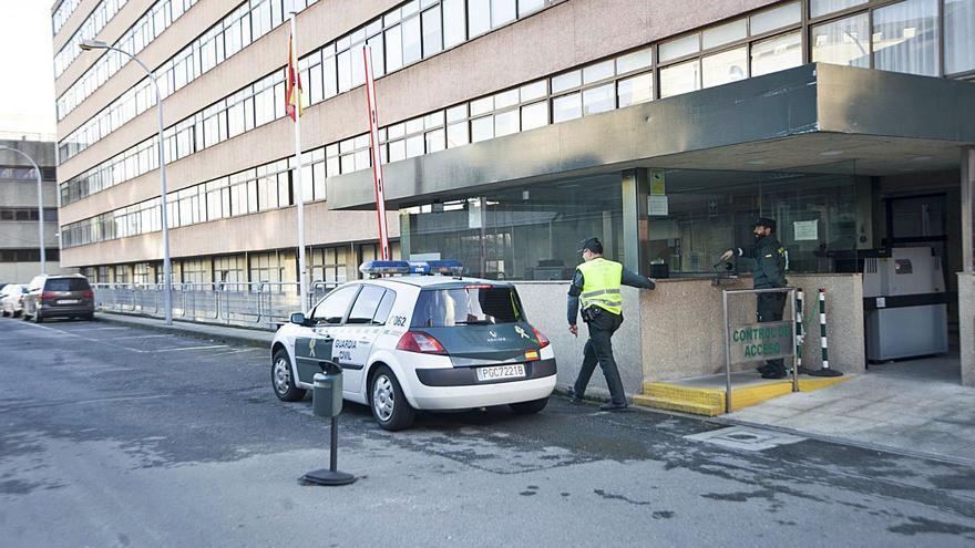 """Operación antidroga """"Cancan"""" con dos vecinos de Cangas detenidos"""