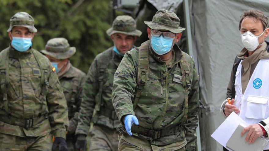 Muere el primer militar por coronavirus