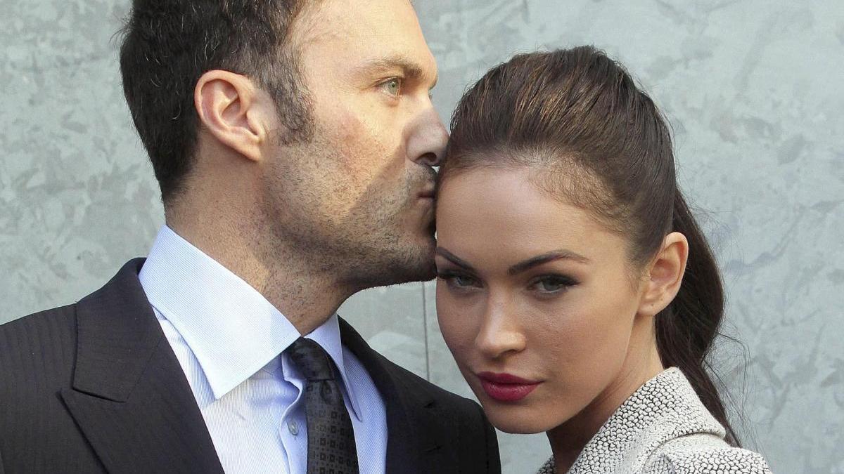 Brian Austin y Megan Fox en una imagen de archivo.