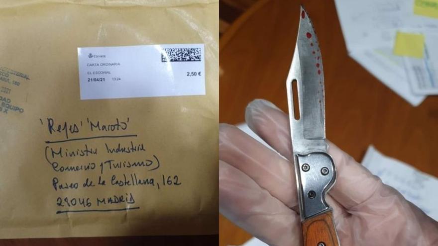 """El hombre que envió la carta a Maroto confiesa haber mandado """"muchas más"""""""