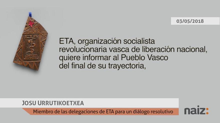 ETA deja de existir