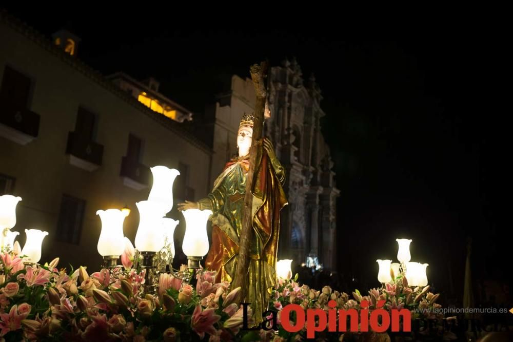 Salida de la Cruz, dos de Mayo en Caravaca