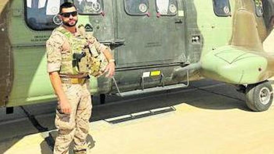 «Es un orgullo ayudar  al pueblo iraquí a  mejorar de seguridad»