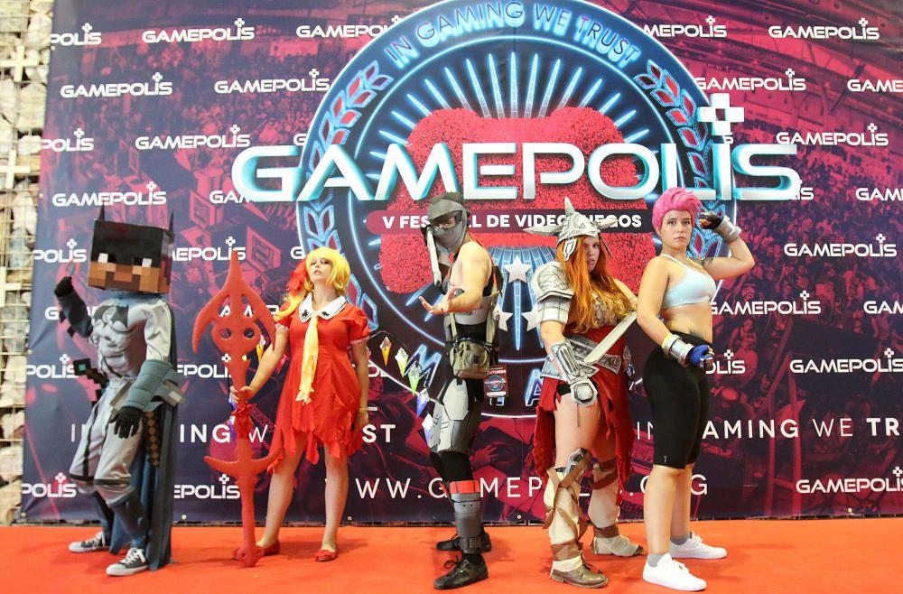 Quinta edición de Gamepolis