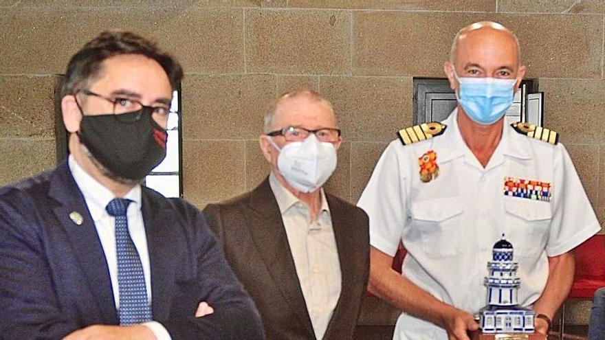 Ignacio Cuartero se despide como director de la Escuela Naval Militar
