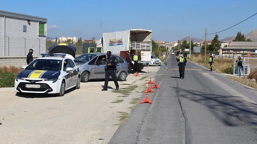 La Policía intensifica la vigilancia rural en Novelda al comenzar la nueva campaña de la uva de mesa
