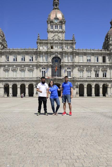 Fillos de Breogán, de A Coruña rumbo al Mundial