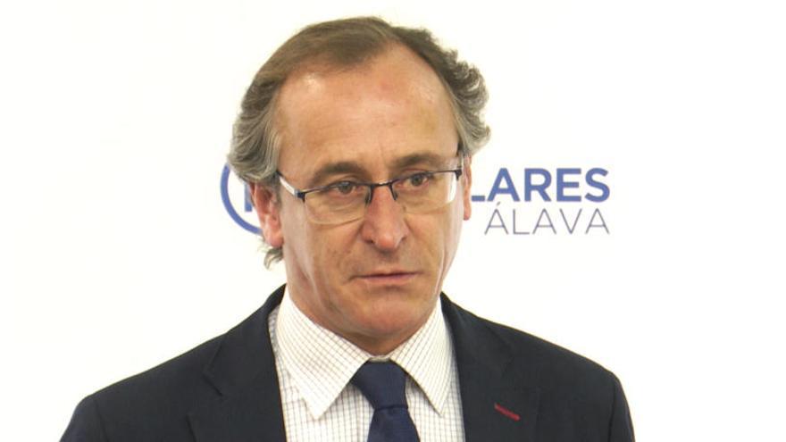 El PP pacta con Cs concurrir juntos a las elecciones vascas sin el aval de Alfonso Alonso