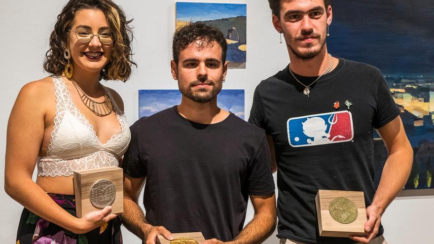 El alumno de la UMU Pedro Pablo Reyes, primer premio de pintura de la Real Academia de Historia y Arte de san Quirce