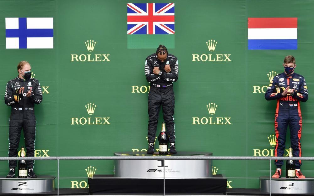 Hamilton reina en el GP de Bélgica de Fórmula 1