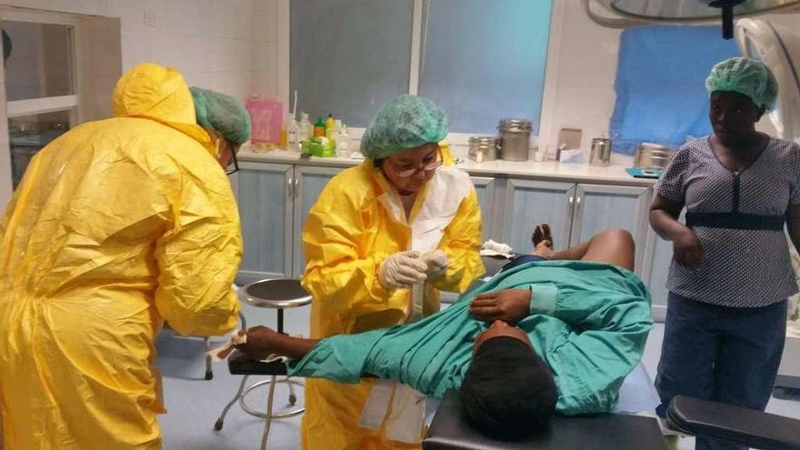 Cirugía solidaria para las cicatrices de África