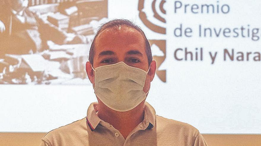 Víctor Perera: «Mi objetivo es investigar toda  la toponimia nativa de Gran Canaria»