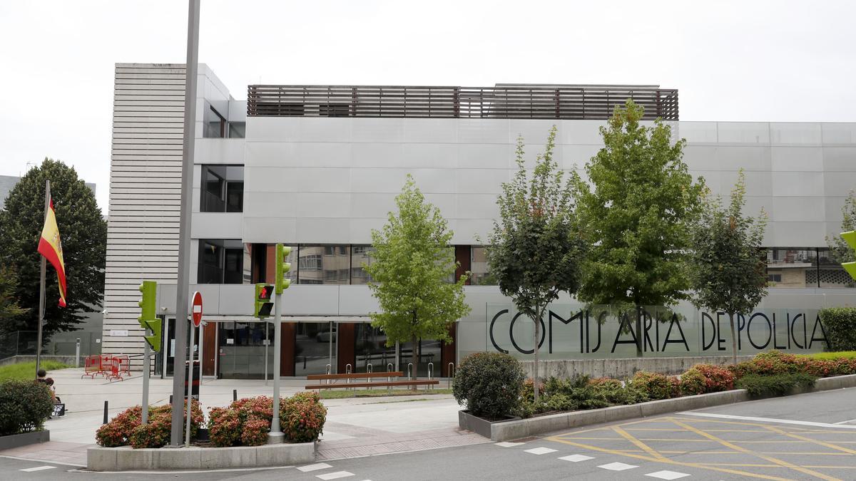 Comisaría de la Policía Nacional en Vigo.