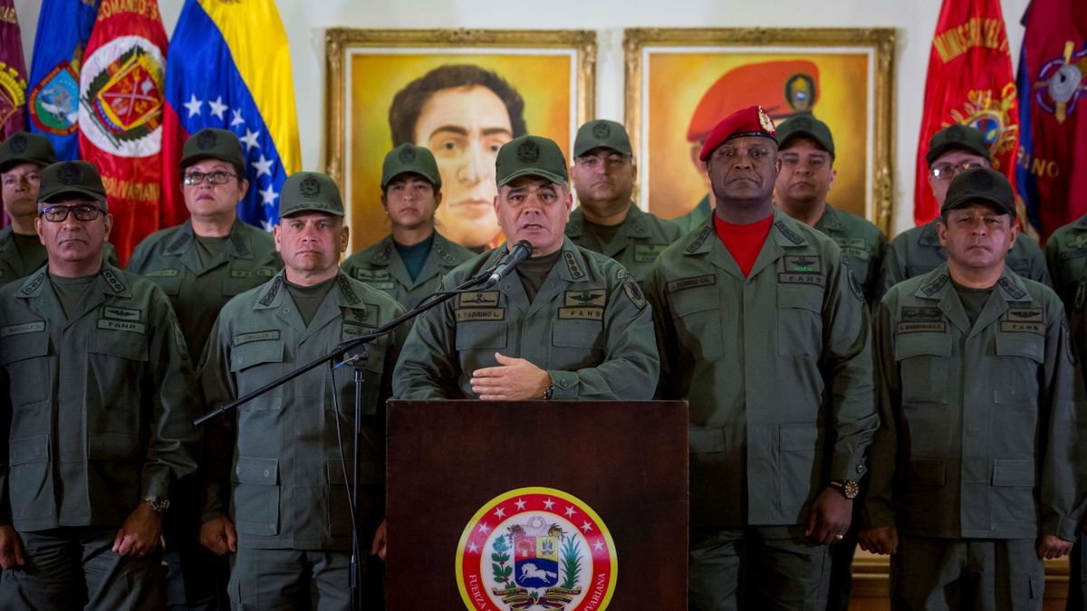 El ministro de Defensa de Venezuela, General Vladimir Padrino López.