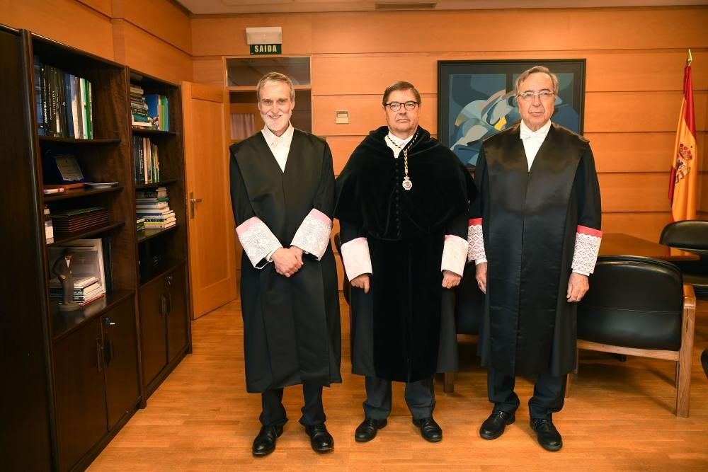 La Universidad nombra doctores honoris causa a los profesores David Lawrence y Enrique Orts