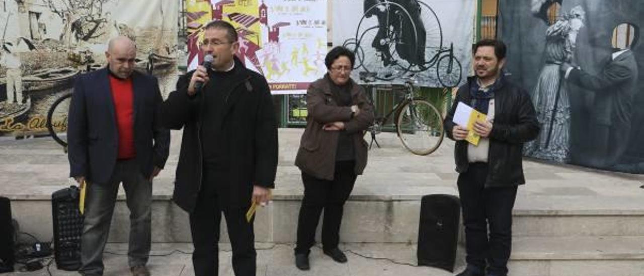 La presentación del Porrat de Sant Macià que tuvo lugar la pasada semana en Ròtova.