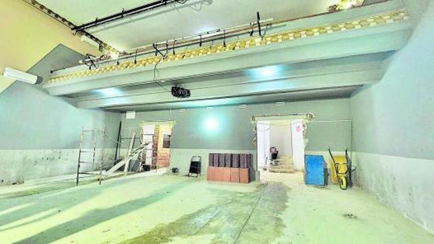 Alboraia reforma el teatre l'Agrícola per a convertir-lo en espai accesible