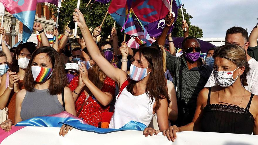 El Orgullo vuelve a las calles de Madrid con los derechos trans por bandera