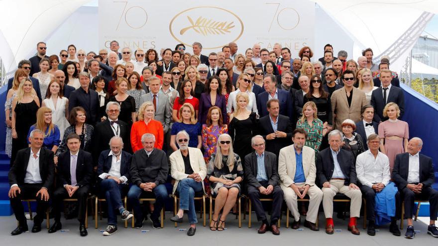 Les estrelles del cinema homenatgen Cannes