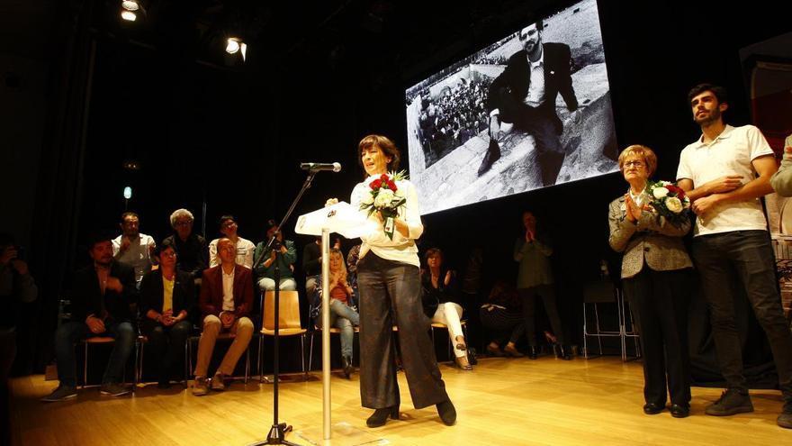 CHA rinde homenaje a Chesús Bernal en su mitin central