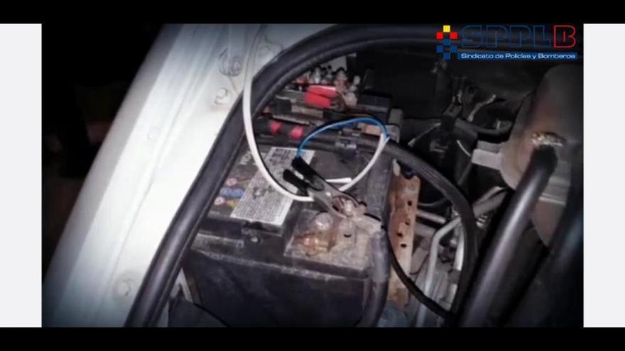 Arrestado por robar combustible de un camión mientras finge que está durmiendo