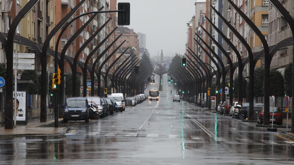 Avenida de la Constitución, en una imagen de archivo.