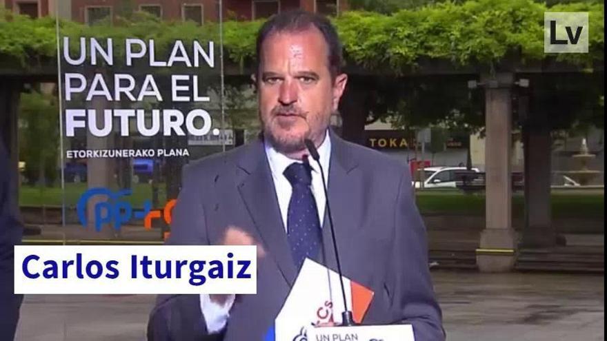 El mal trago del candidato vasco de PP y Ciudadanos