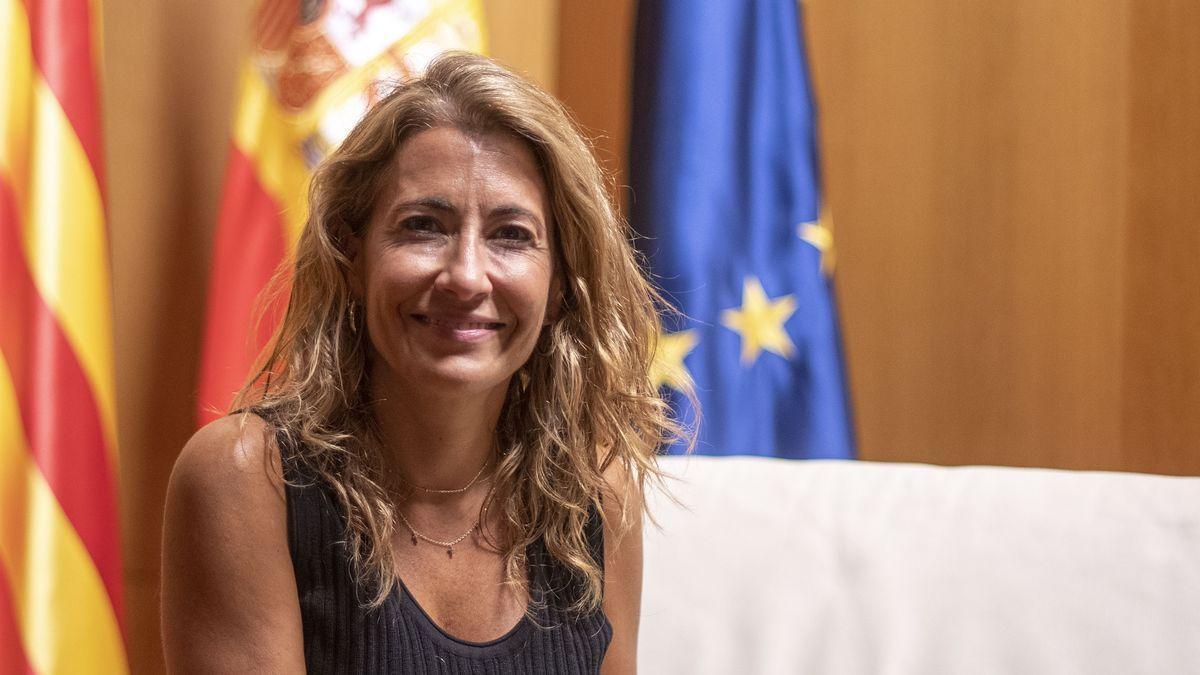 Raquel Sanchez, ministra de transportes del Gobierno español.