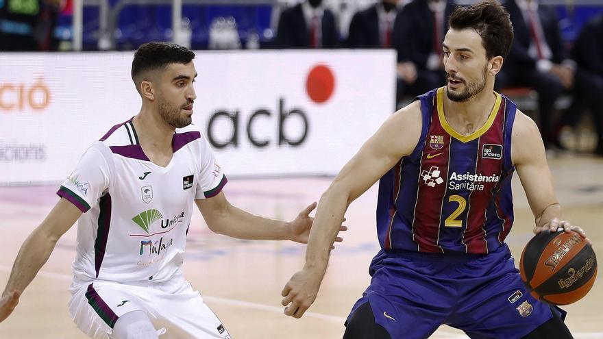 El Barcelona hunde al Unicaja en el último cuarto