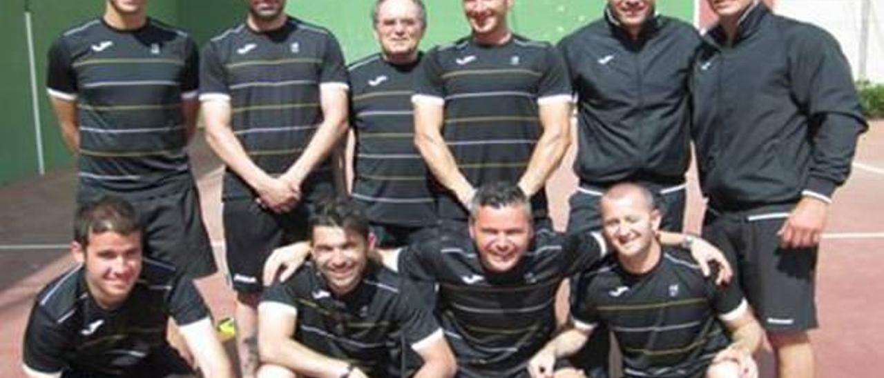 El Incusa-Silla de Frontenis gana la Copa Provincial