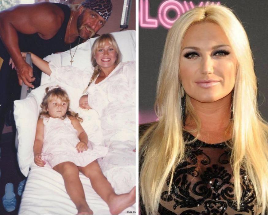 Brooke, la hija de Hulk Hogan.