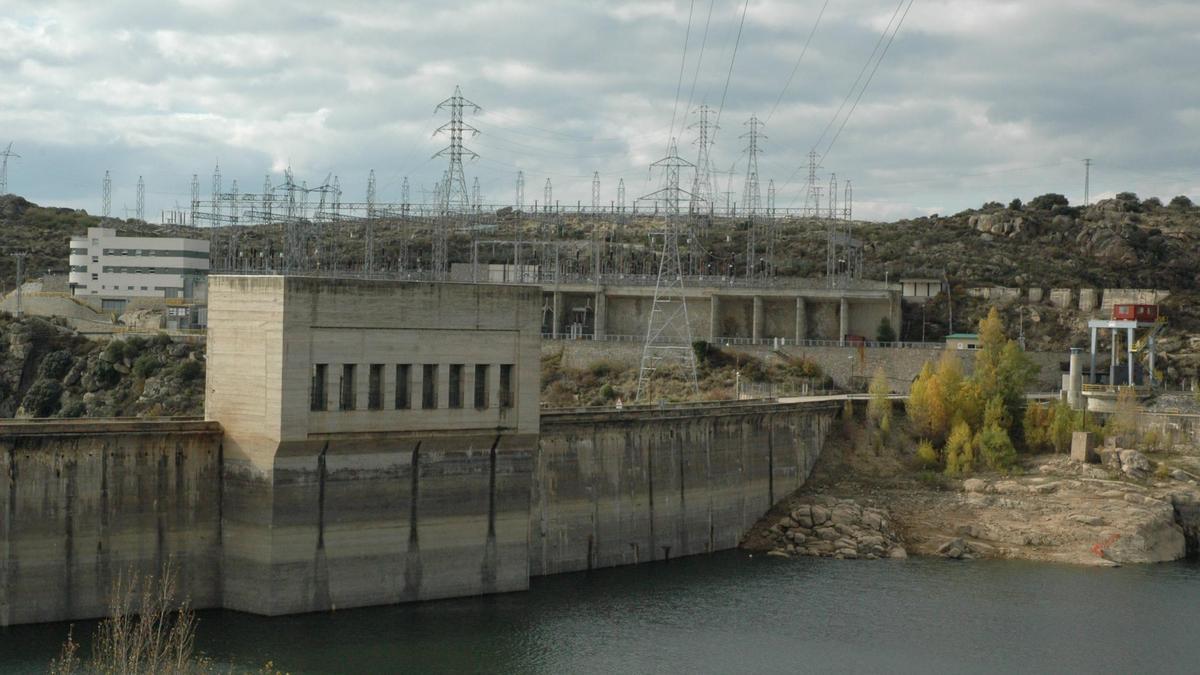 Central hidroeléctrica de Ricobayo.