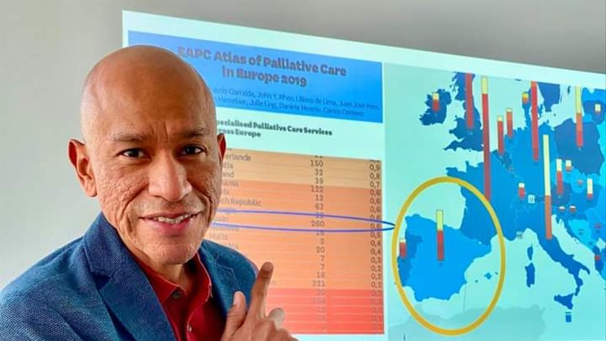 Un médico de Manacor, nuevo presidente de la Sociedad Española de Cuidados Paliativos