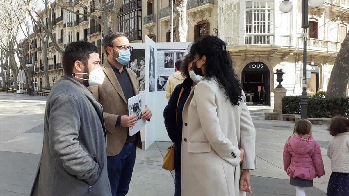 BALEARES.-El Borne acoge desde este sábado una exposición fotográfica para ayudar a visibilizar las enfermedades raras