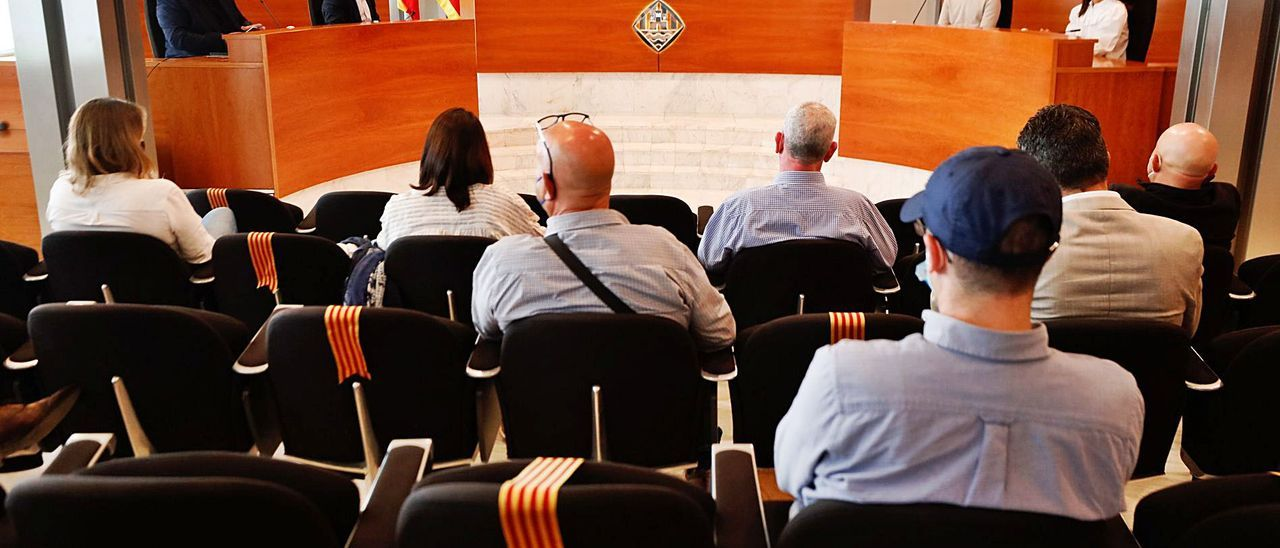 Un momento de la reunión celebrada con los empresarios en el Consell de Ibiza