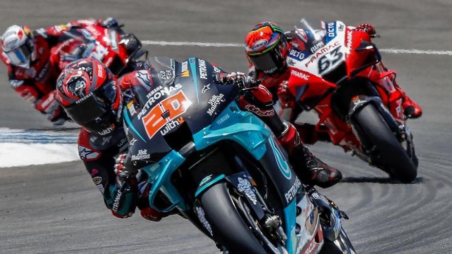 El piloto francés de MotoGP Fabio Quartararo.