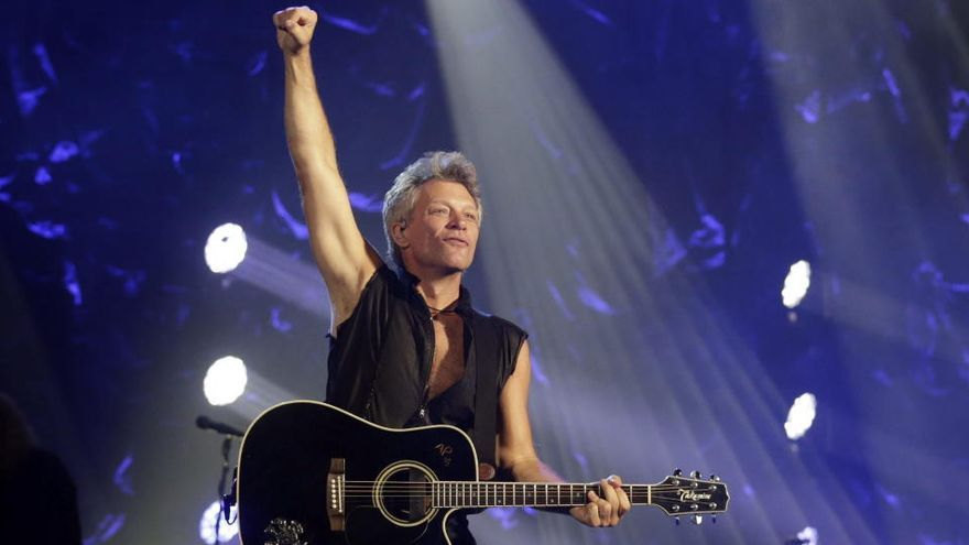 """Jon Bon Jovi: """"Cada día es una oportunidad para escribir una canción"""""""