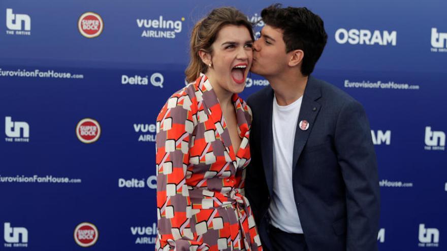 «Eurovisió 2018»: a quina hora actuaran Amaia i Alfred?