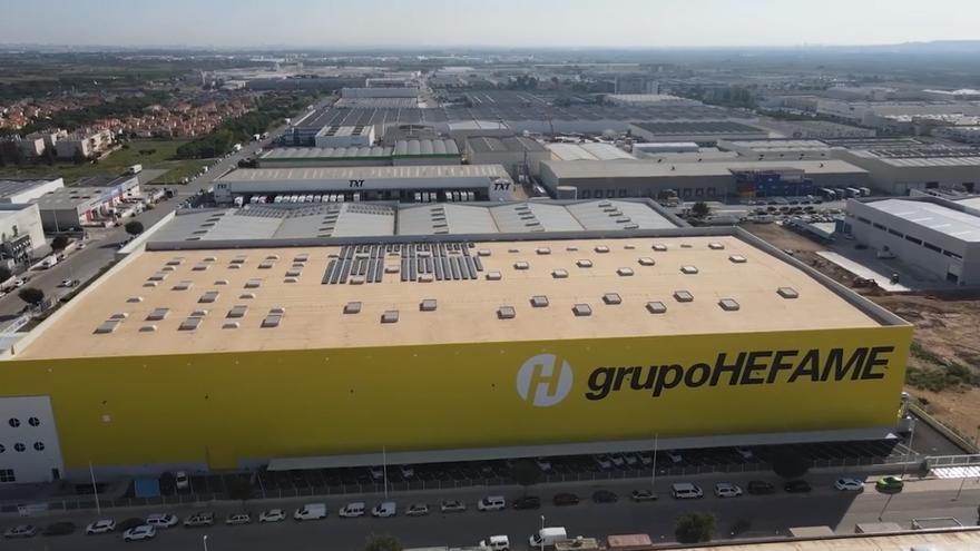 Grupo Hefame inaugura un segundo centro regulador de 18.000 metros cuadrados