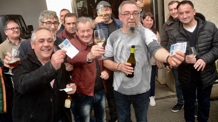 El sorteo deja cinco millones en Cuntis y Moraña en una gran jornada de celebración