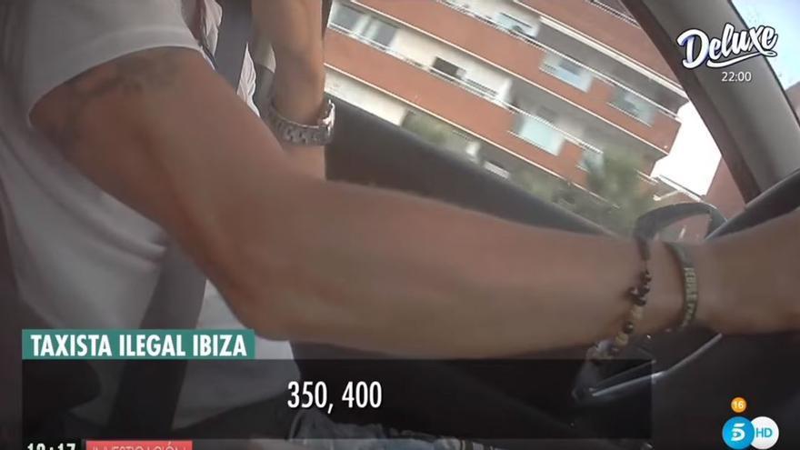 El creador de una plataforma de taxis pirata en Ibiza admite que gana hasta 400 euros al día